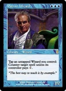 Magic the Gathering Odyssey Single Patron Wizard - NEAR MINT (NM)