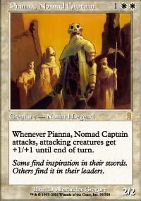 Magic the Gathering Odyssey Single Pianna, Nomad Captain UNPLAYED (NM/MT)
