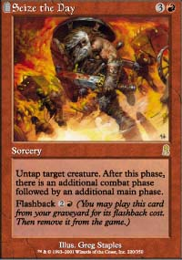 Magic the Gathering Odyssey Single Seize the Day - NEAR MINT (NM)