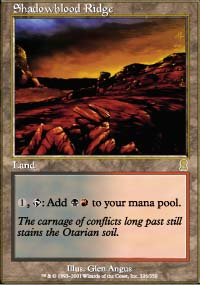 Magic the Gathering Odyssey Single Shadowblood Ridge - NEAR MINT (NM)