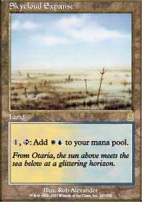 Magic the Gathering Odyssey Single Skycloud Expanse - NEAR MINT (NM)
