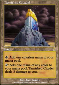 Magic the Gathering Odyssey Single Tarnished Citadel - NEAR MINT (NM)
