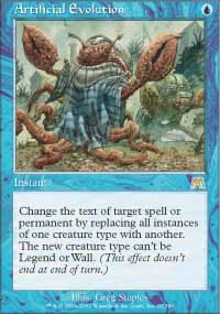 Magic the Gathering Onslaught Single Artificial Evolution - NEAR MINT (NM)