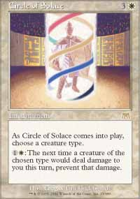 Magic the Gathering Onslaught Singles 4x Circle of Solace UNPLAYED (NM/MT)