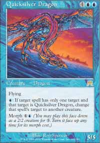 Magic the Gathering Onslaught Single Quicksilver Dragon - NEAR MINT (NM)