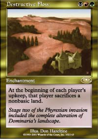 Magic the Gathering Planeshift Single Destructive Flow - NEAR MINT (NM)