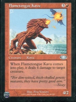 Magic the Gathering Planeshift Single Flametongue Kavu LIGHT PLAY (NM)