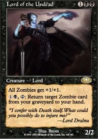 Magic the Gathering Planeshift Single Lord of the Undead UNPLAYED (NM/MT)