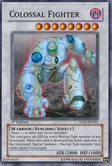 Yu-Gi-Oh SD 5D's Single Colossal Fighter Super Rare