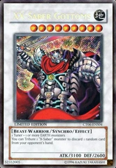 Yu-Gi-Oh Limited Edition Tin Single XX-Saber Gottoms Secret Rare