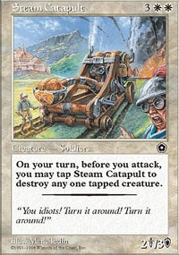 Magic the Gathering Portal 2 Single Steam Catapult UNPLAYED (NM/MT)
