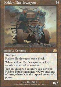 Magic the Gathering Prophecy Single Keldon Battlewagon - NEAR MINT (NM)