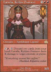Magic the Gathering Prophecy Single Latulla, Keldon Overseer - NEAR MINT (NM)