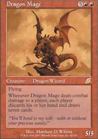 Magic the Gathering Scourge Single Dragon Mage - NEAR MINT (NM)