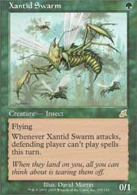 Magic the Gathering Scourge Single Xantid Swarm - SLIGHT PLAY (SP)