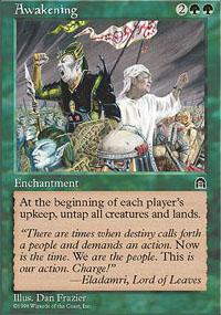 Magic the Gathering Stronghold Single Awakening - NEAR MINT (NM)