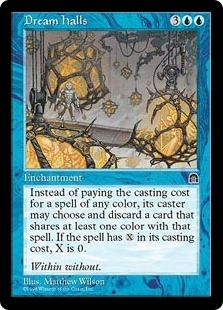Magic the Gathering Stronghold Single Dream Halls UNPLAYED (NM/MT)