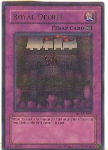 Yu-Gi-Oh Hobby League 3 Single Royal Decree Parallel Rare