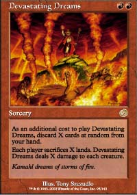 Magic the Gathering Torment Single Devastating Dreams - NEAR MINT (NM)
