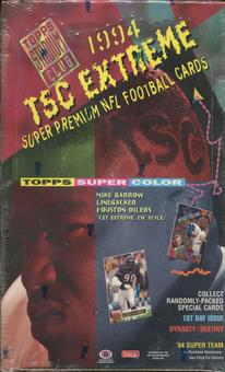 1994 Topps Stadium Club Series 1 Football Hobby Box