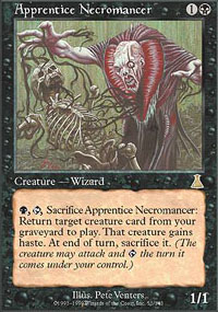 Magic the Gathering Urza's Destiny Single Apprentice Necromancer UNPLAYED (NM/MT)
