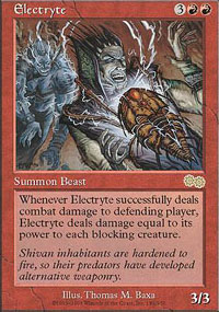 Magic the Gathering Urza's Saga Single Electryte - NEAR MINT (NM)
