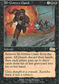 Magic the Gathering Urza's Saga Single Ill-Gotten Gains - NEAR MINT (NM)