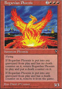 Magic the Gathering Visions Single Bogardan Phoenix - NEAR MINT (NM)