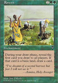 Magic the Gathering Visions Single Rowen - NEAR MINT (NM)