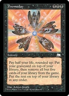 Magic the Gathering Weatherlight Single Doomsday UNPLAYED (NM/MT)