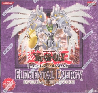 Upper Deck Yu-Gi-Oh Elemental Energy Special Edition Box