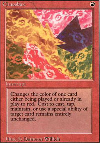 Magic the Gathering 3rd Ed (Revised) Single Chaoslace UNPLAYED (NM/MT)