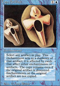 Magic the Gathering 3rd Ed (Revised) Single Copy Artifact - SLIGHT PLAY (SP)