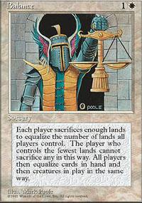 Magic the Gathering 4th Edition Single Balance - NEAR MINT (NM)