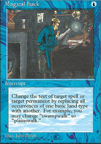 Magic the Gathering 4th Edition Single Magical Hack - NEAR MINT (NM)