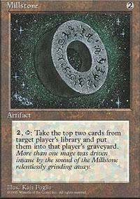 Magic the Gathering 4th Edition Single Millstone - NEAR MINT (NM)