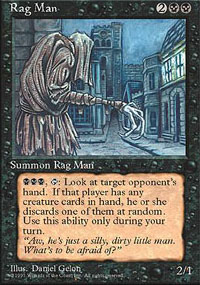 Magic the Gathering 4th Edition Single Rag Man - NEAR MINT (NM)