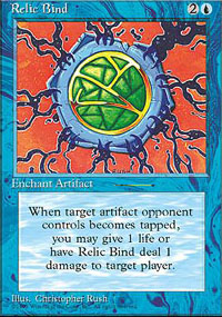 Magic the Gathering 4th Edition Single Relic Bind - NEAR MINT (NM)