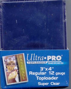 Ultra Pro 3x4 Regular Toploaders (Lite) (25 Count Pack)