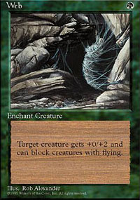 Magic the Gathering 4th Edition Single Web - NEAR MINT (NM)