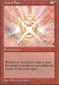 Magic the Gathering 5th Edition Single Mana Flare UNPLAYED (NM/MT)