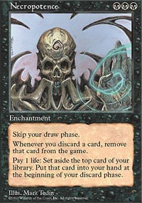 Magic the Gathering 5th Edition Single Necropotence - NEAR MINT (NM)