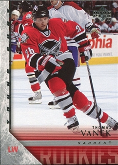 2005/06 Upper Deck #457 Thomas Vanek Young Guns YG RC