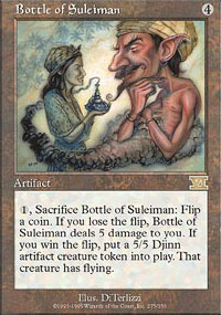 Magic the Gathering 6th Edition Single Bottle of Suleiman - NEAR MINT (NM)