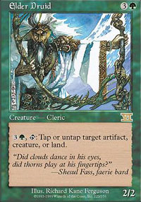 Magic the Gathering 6th Edition Single Elder Druid - NEAR MINT (NM)