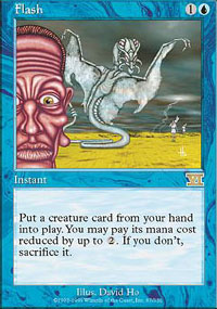 Magic the Gathering 6th Edition Single Flash - NEAR MINT (NM)