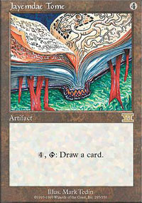 Magic the Gathering 6th Edition Single Jayemdae Tome - NEAR MINT (NM)