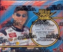 2002 Press Pass Wheels High Gear Racing Hobby Box