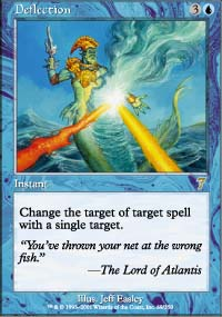 Magic the Gathering 7th Edition Single Deflection - NEAR MINT (NM)
