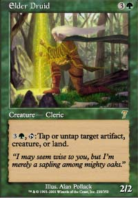 Magic the Gathering 7th Edition Single Elder Druid - NEAR MINT (NM)